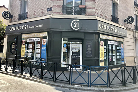Agence immobilière CENTURY 21 Immo Conseil, 93300 AUBERVILLIERS